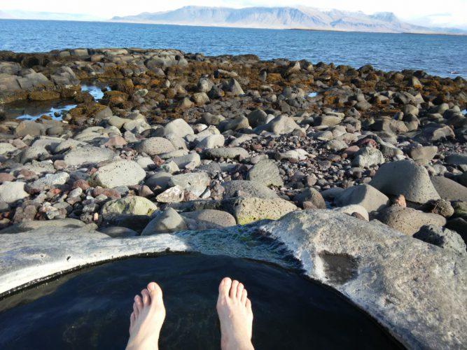 Der kleinste Pool in Reykjavik