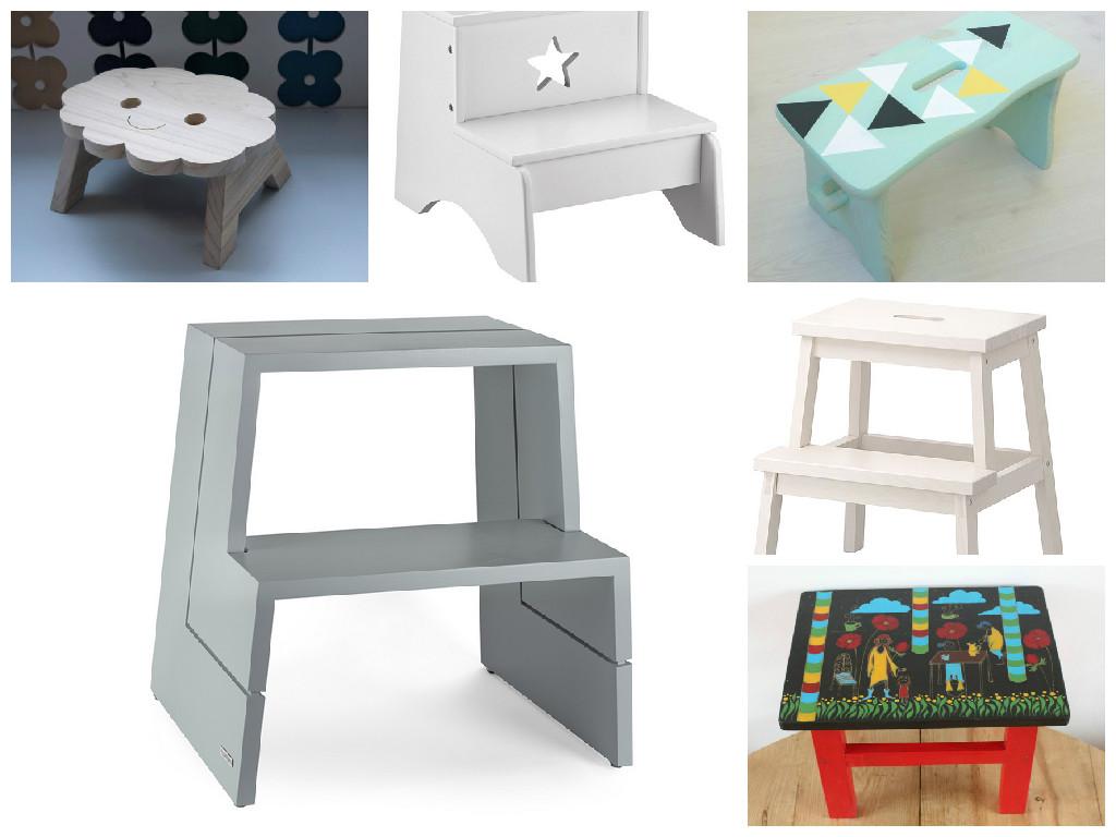 die sch nsten tritthocker littleyears. Black Bedroom Furniture Sets. Home Design Ideas