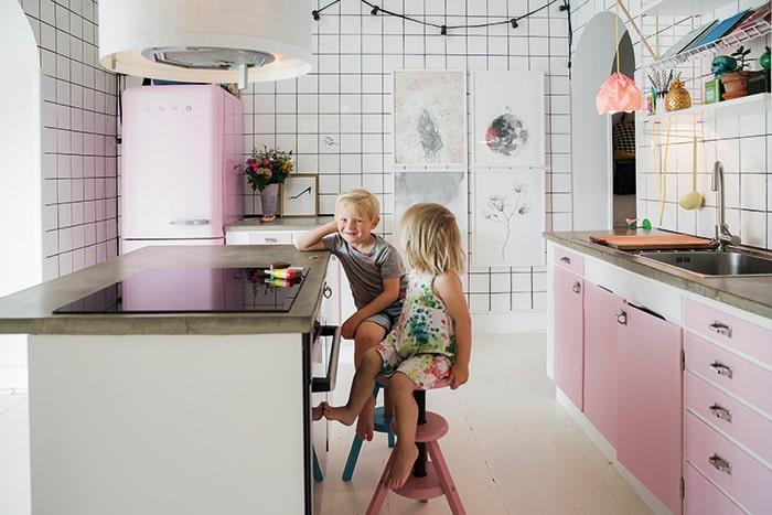 Kueche-Kinder-Haustour-Buch