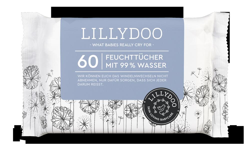 LILLYDOO_Wasser_Feuchttücher_60-Stück