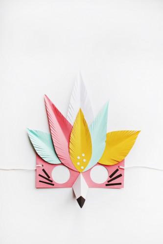 fox-paper-mask