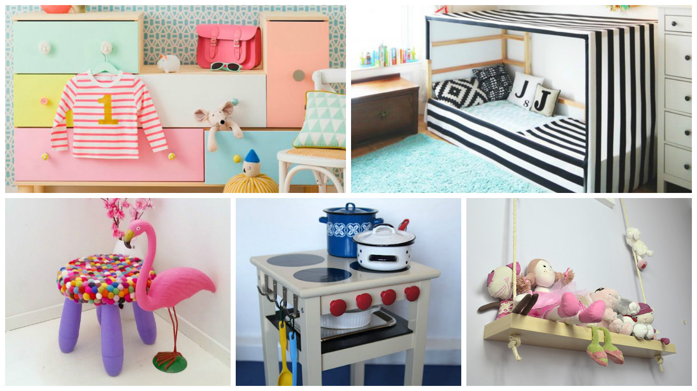 Sieben gro artige ikea hacks f rs kinderzimmer littleyears for Wandregal kinderzimmer ikea