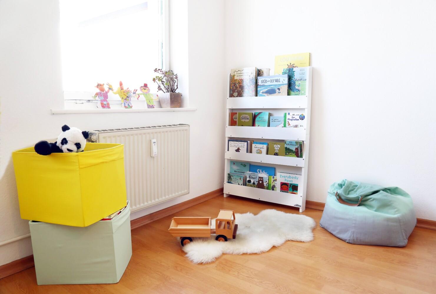 Leseecke kinderzimmer  Ein kleines Kinderzimmer Make-Over - Littleyears