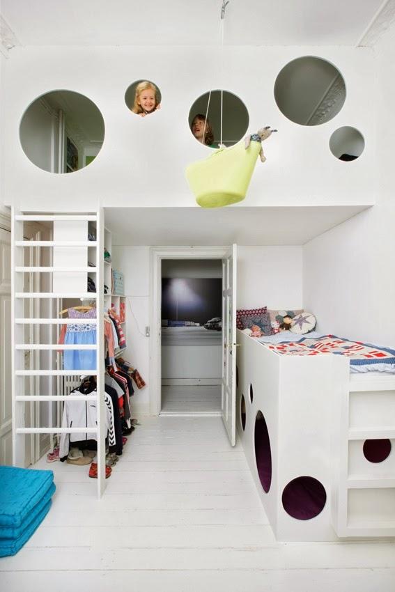 Bevorzugt Fünf verrückte Hochbett-Ideen für handwerklich Begabte - Littleyears CG59